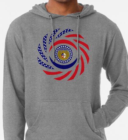 Missouri Murican Patriot Flag Series Lightweight Hoodie