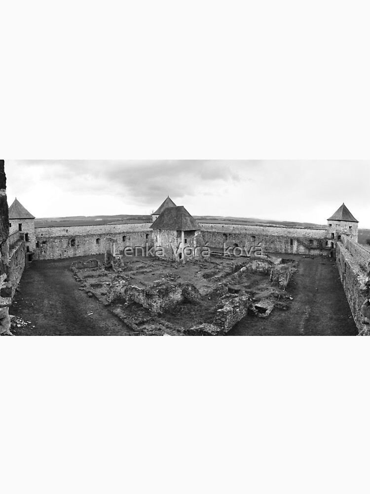 Fortress monastery courtyard by Trin4ever