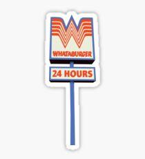 Whataburger 24 hours Sticker