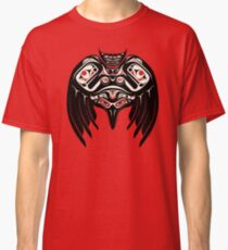 Raven Crow in a Pacific North West Style, Native American Style Classic T-Shirt