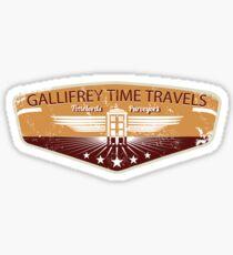 GALLIFREY TIME TRAVELS Sticker