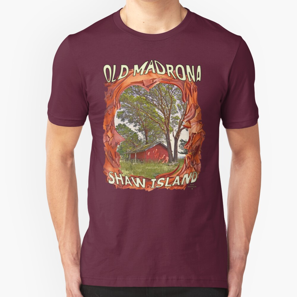OLD MADRONA SHAW ISLAND Slim Fit T-Shirt