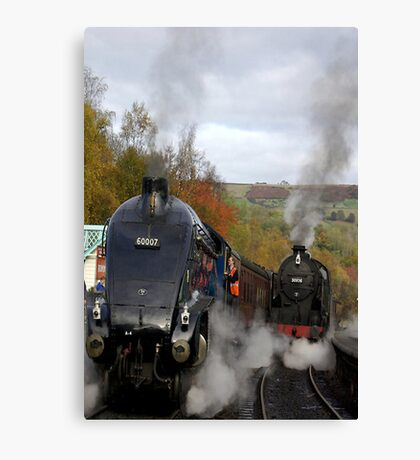 The Age of Steam Canvas Print