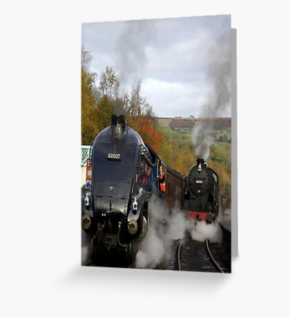 The Age of Steam Greeting Card