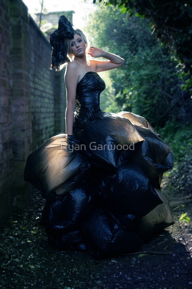 The Bin Bag Dress - Fashion Shoot by Ryan Garwood