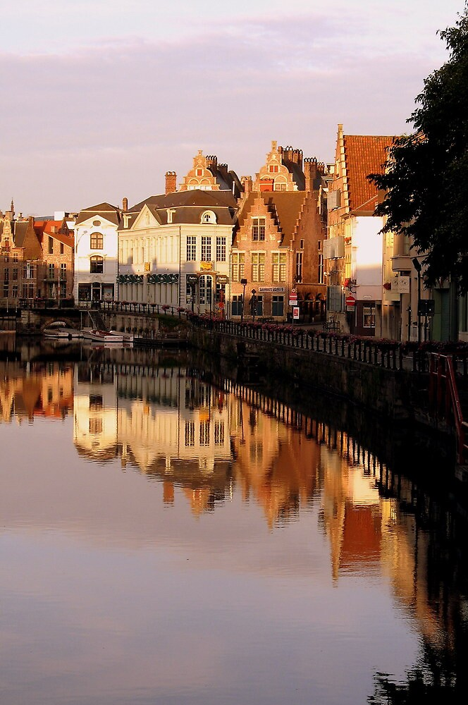 GHENT REFLECTIONS by Joan Harrison