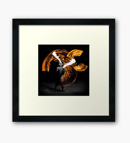 Playing with fire (2) Framed Print
