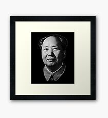 Chairman Mao Zedong, portrait T-shirt Framed Print