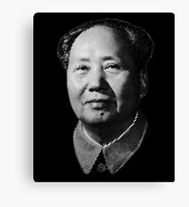 Chairman Mao Zedong, portrait T-shirt Canvas Print