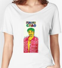 Manu Chao Reggae Ska Pop Folk Art Women's Relaxed Fit T-Shirt