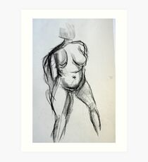 Bodies 1: Figure Sketch Art Print