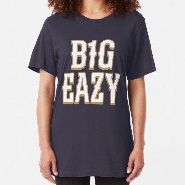 B1G EAZY - Navy Slim Fit T-Shirt Unisex Tshirt