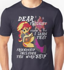 "Friend ""ship"" is magic! Unisex T-Shirt"