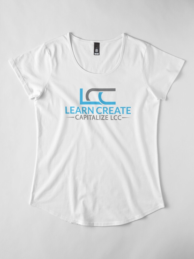 Alternate view of LCC Premium Scoop T-Shirt