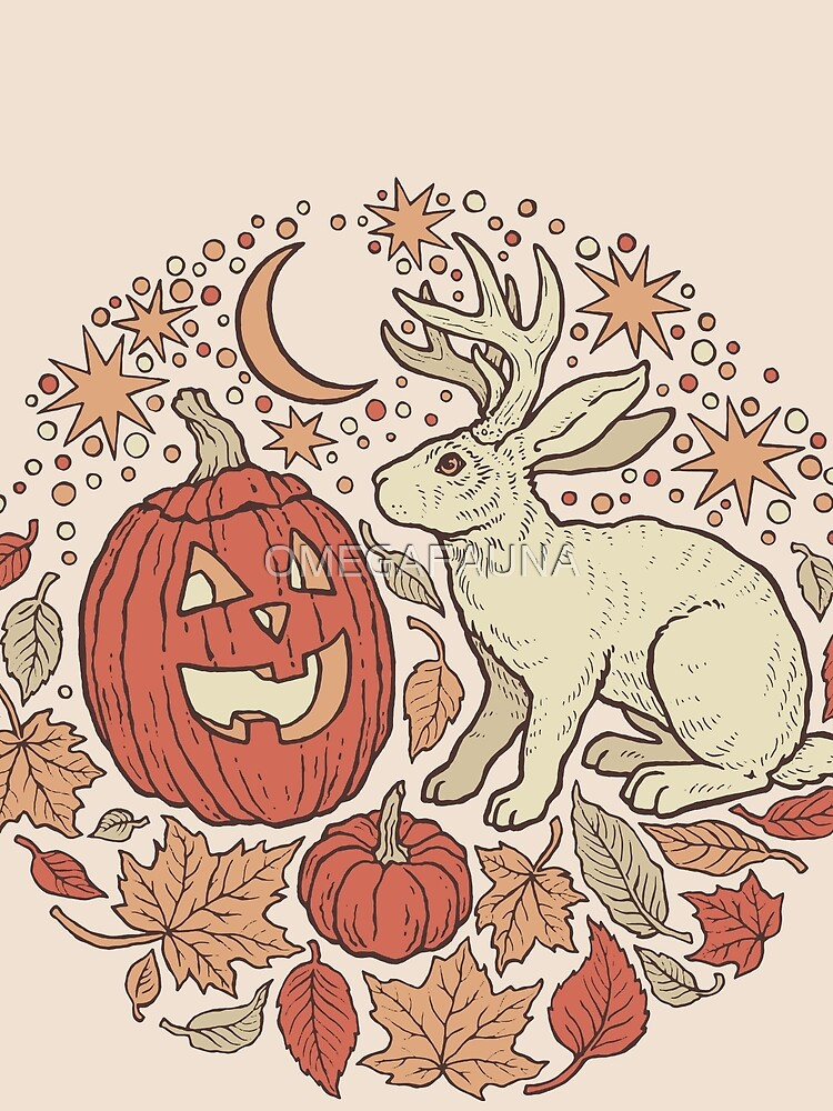 Halloween Friends | Autumn Palette by OMEGAFAUNA