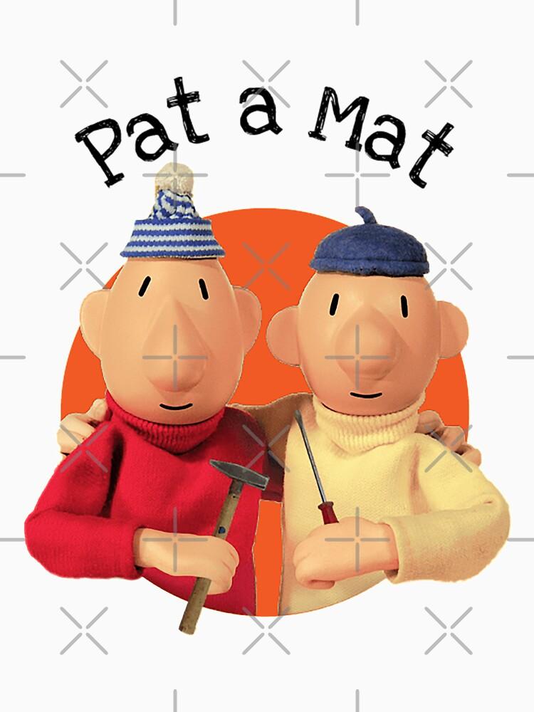 Pat a Mat - Lubomír Beneš - Pat & Mat - Stalemate Checkmate - Sloavkia - Czech Republic - Czechoslovakia - A je to - t shirt - t-shirt by happygiftideas
