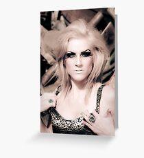 """""""Madame Majestic"""" Series: Atomic Frolic Greeting Card"""