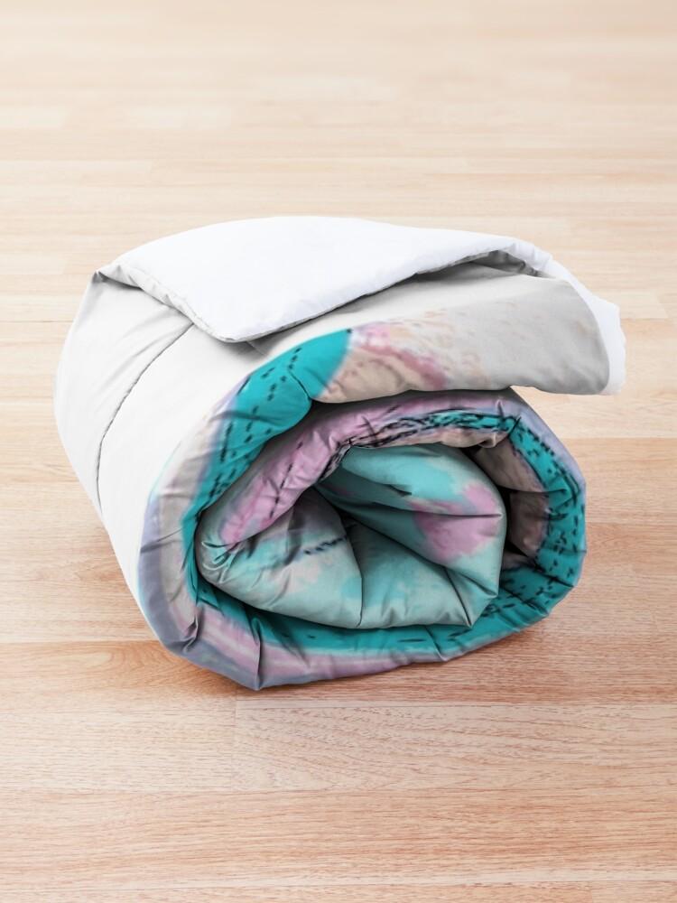 Alternate view of Bunnies Rock Comforter