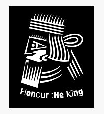 Honor The King  Photographic Print