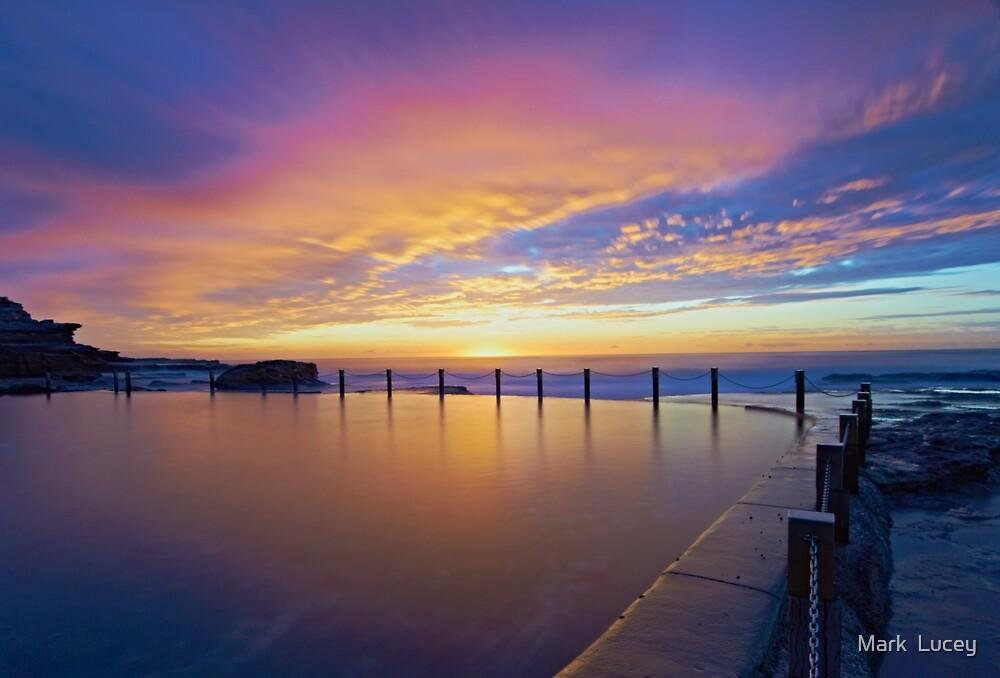 Mahon Pool Sunrise II by Mark  Lucey