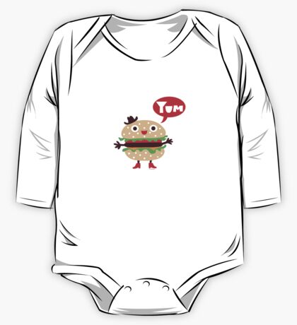 Cheeseburger yum Kids Clothes