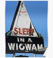 I slept here! Poster