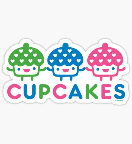 cupcake Fun light Sticker