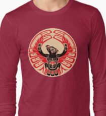 Firebird Thunderbird with Raised Wings, Native American Style T-Shirt