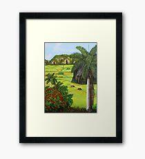 Vinales Valley Framed Print