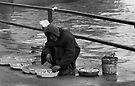 Sidewalk Fish Seller by pmreed