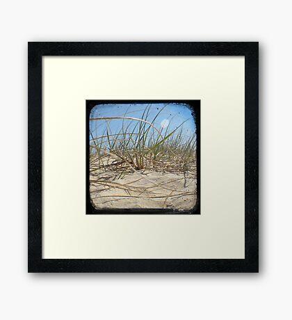 Grassy Dunes - TTV #2 Framed Print