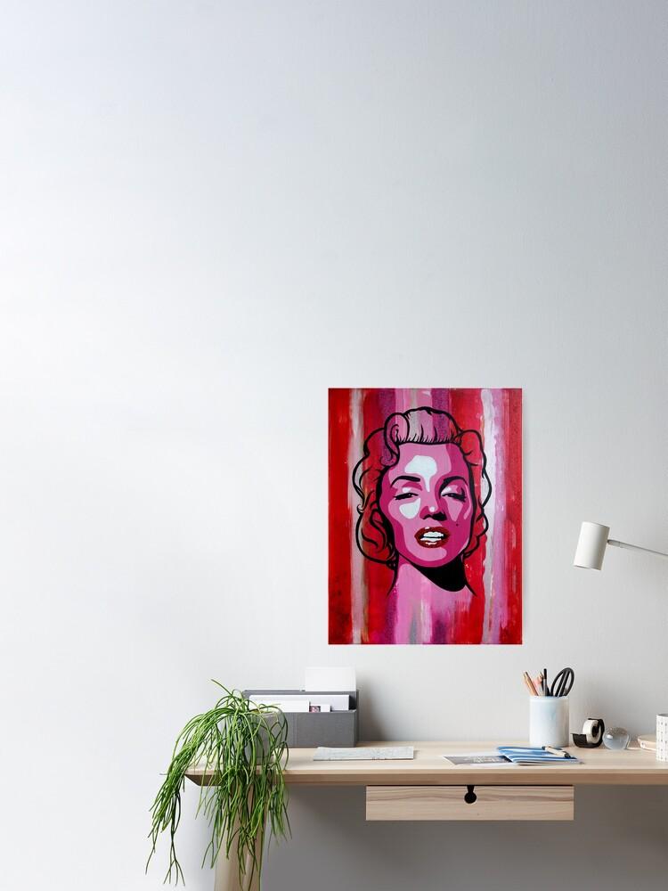 Alternate view of Marilyn Monroe Portrait Poster