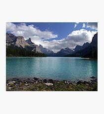 Maligne Lake from Spirit Island Photographic Print