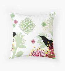A Very Kiwi Christmas Throw Pillow