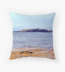 Indian Harbour, Nova Scotia Throw Pillow