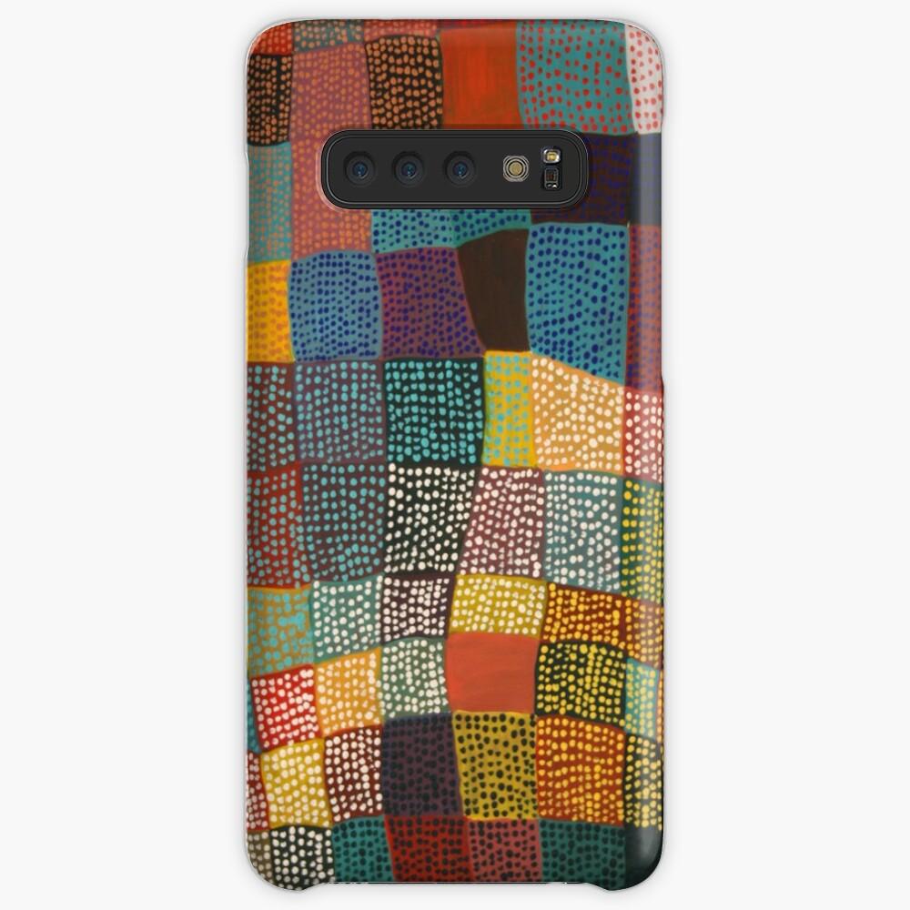 Dot Patchwork Landscape Case & Skin for Samsung Galaxy