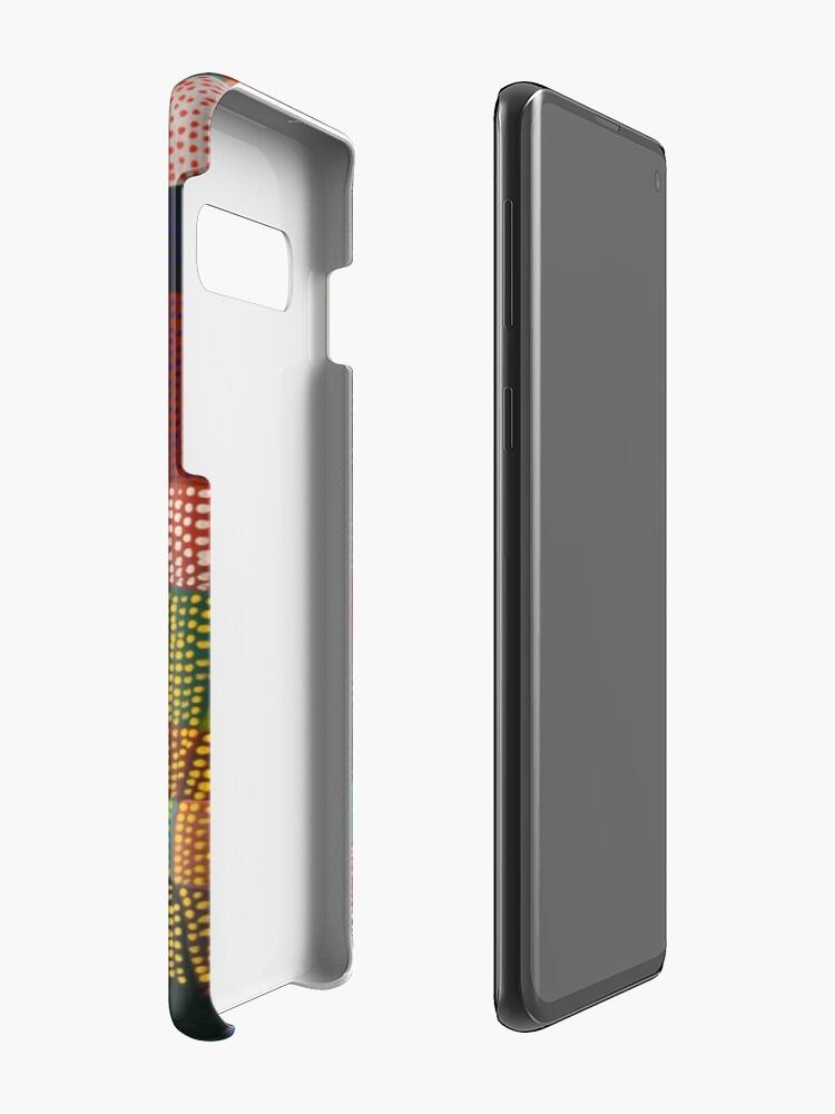 Alternate view of Dot Patchwork Landscape Case & Skin for Samsung Galaxy