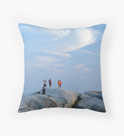 Enjoy The Evening Throw Pillow