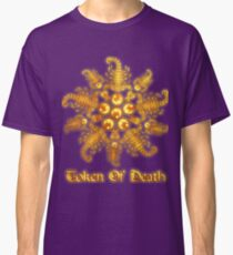 Scorpion Flower - Gold Metal Classic T-Shirt
