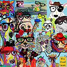 Hip Animals with Glasses . . . The Cool Kids! by EloiseArt