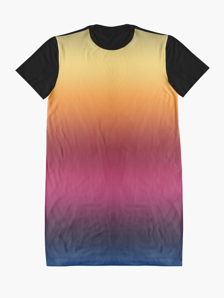 Alternate view of Linear Gradient Graphic T-Shirt Dress