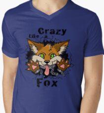 Crazy Like a Fox! Men's V-Neck T-Shirt