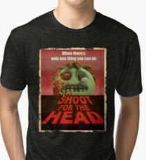 Shoot for the Head Tri-blend T-Shirt