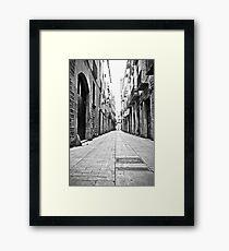Barcelona 12 Framed Print