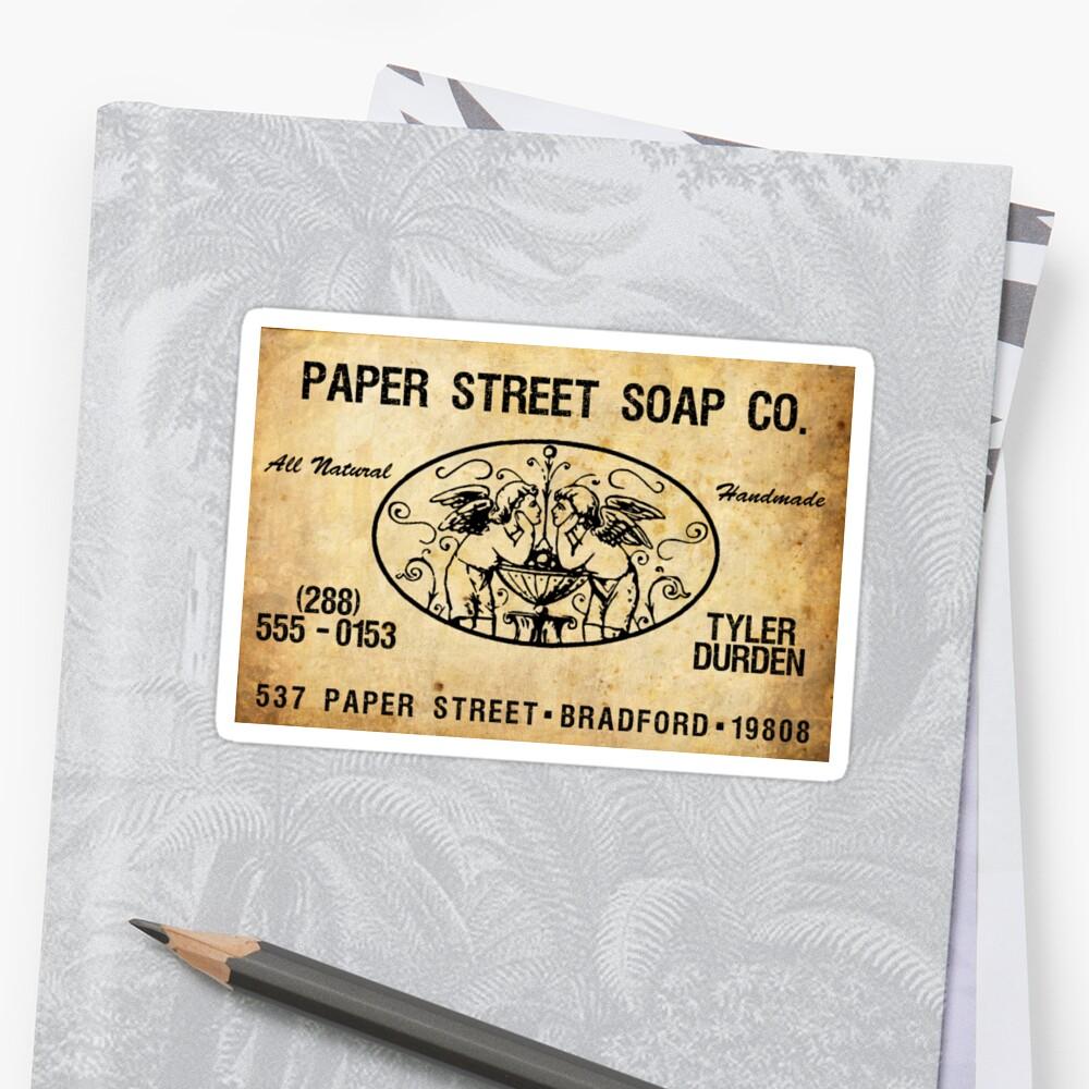 Paper Street Soap Co. Sticker