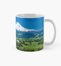 Mount Hood with orchards Mug