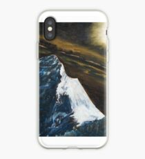 Mt. Everest by moonlight iPhone Case
