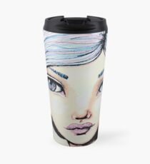 Space Buns - Full-Color Version Travel Mug