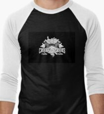 CROOKS&CASTLES Men's Baseball ¾ T-Shirt