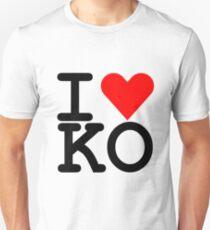 I Heart KO Unisex T-Shirt